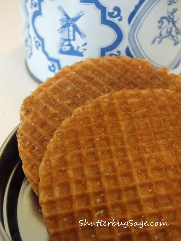 Stroopwafels are a Dutch treat made by infusing two, thin, crispy waffles together with caramel syrup.