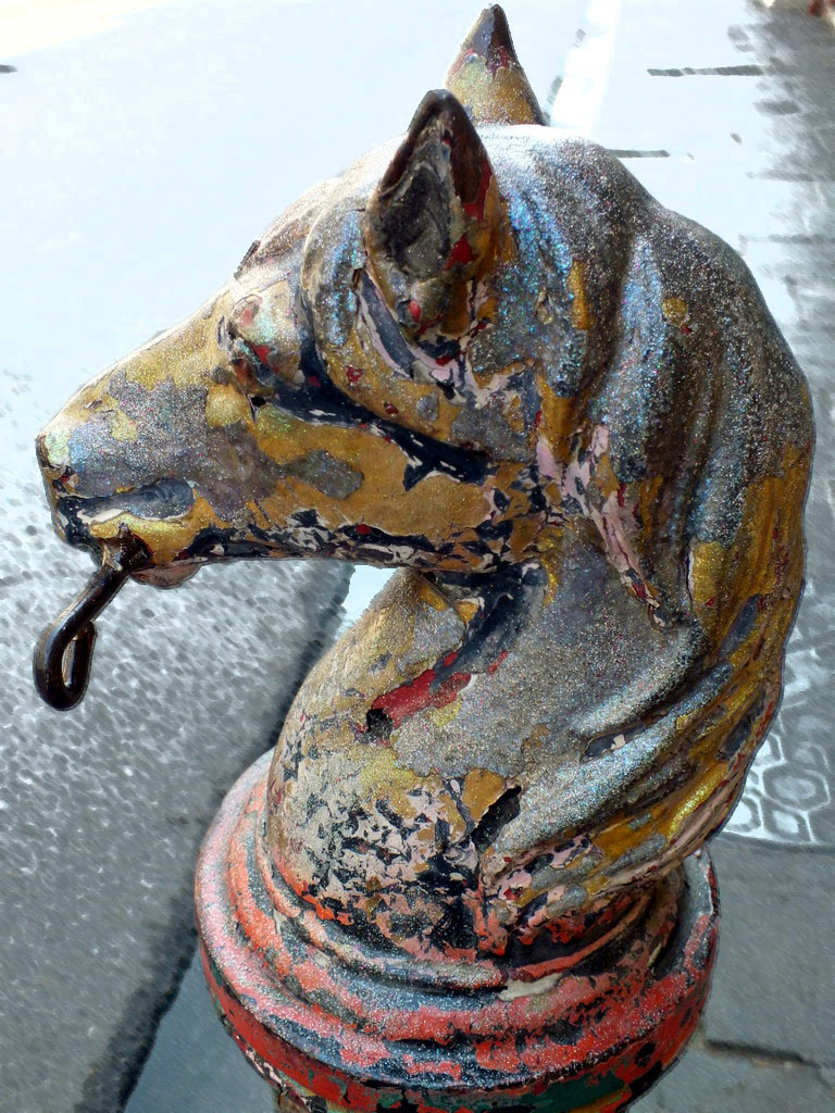 French Quarter Horse Head Smudge Stick