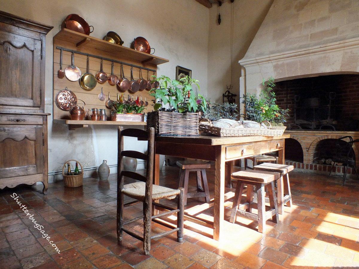 Chateau De Villandry Kitchen Shutterbugsage Com
