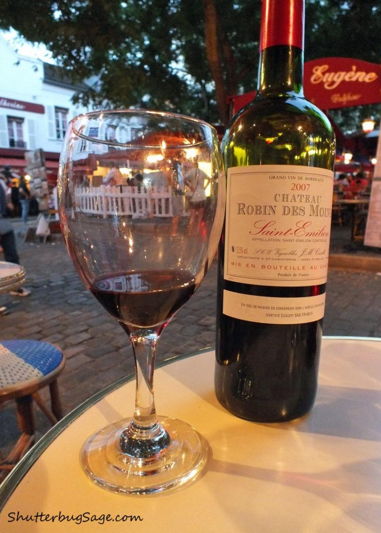 Wine in Montmartre