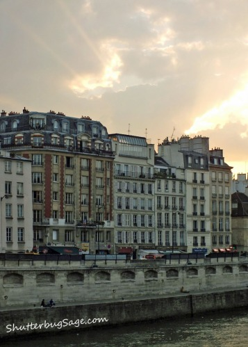 Sunset Over the Seine 2