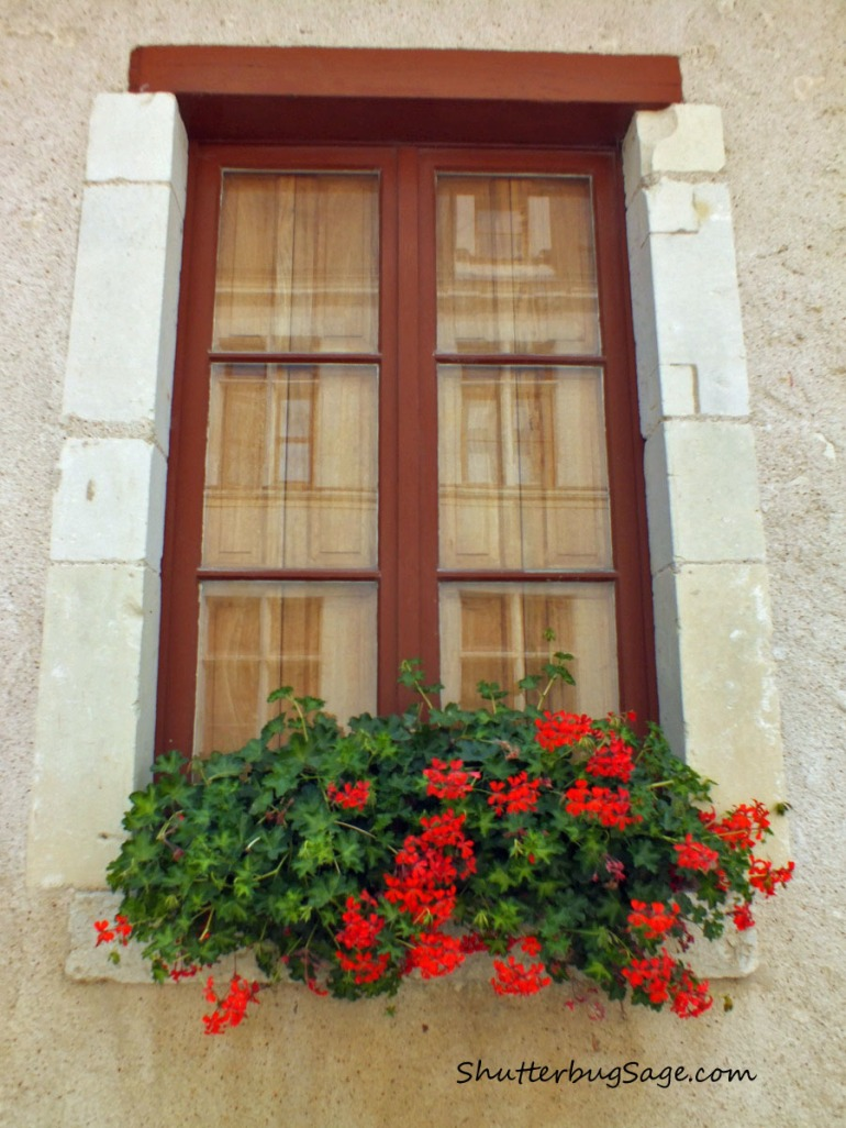 Window at Mairie