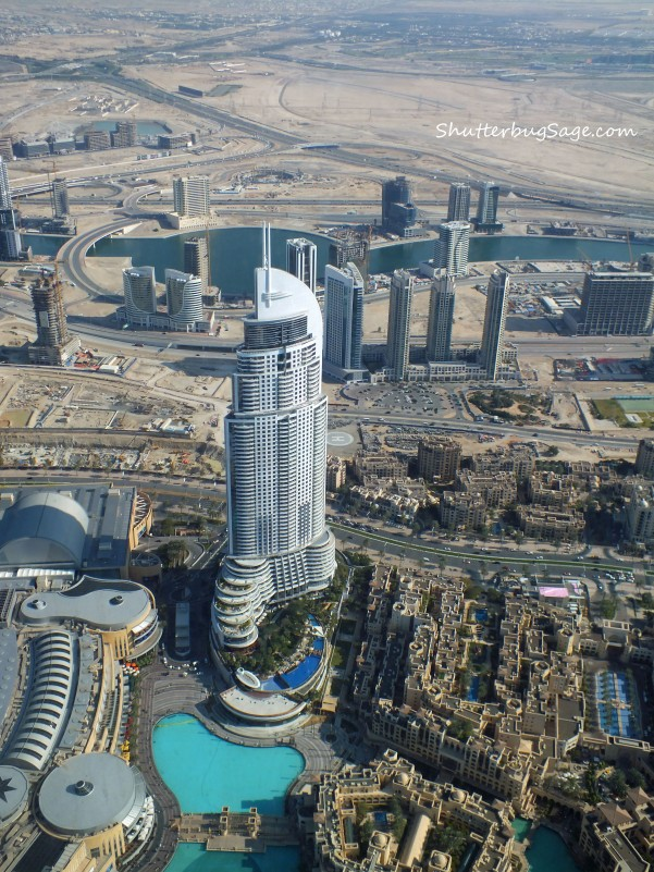 Burj Khalifa - Oasis in the Desert copy