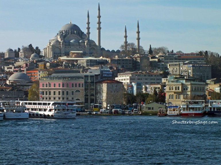 Crossing the Galata Bridge 2 copy