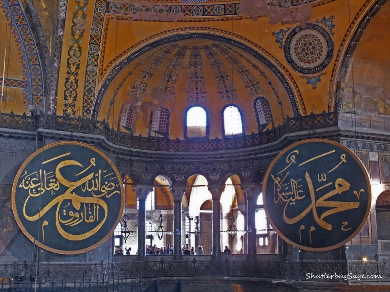 Hagia Sofia (or Hagia Sophia) in Istanbul is featured in a Dan Brown novel