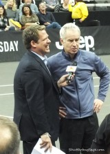 John McEnroe in the 2014 Powershares Series
