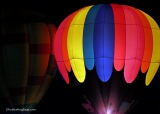 Midwest Balloon Fest 2015:  Balloon Glow and SpecialShapes