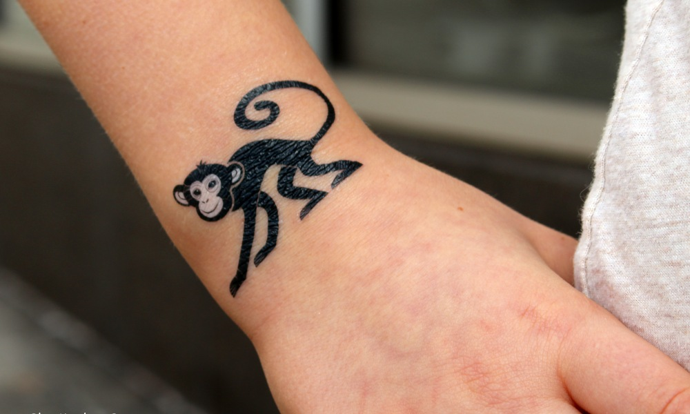 Chinese new year year of the monkey tattoo one thing for Year of the monkey tattoo