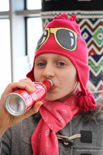 WOC - Sofia Drinking Coke