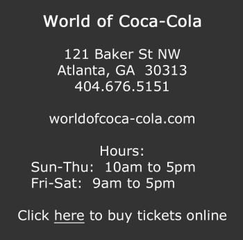 Visit the World of Coca-Cola