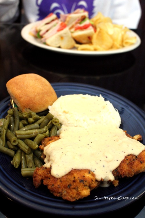 Blue Plate Special at the Old Mill Tasty Shop