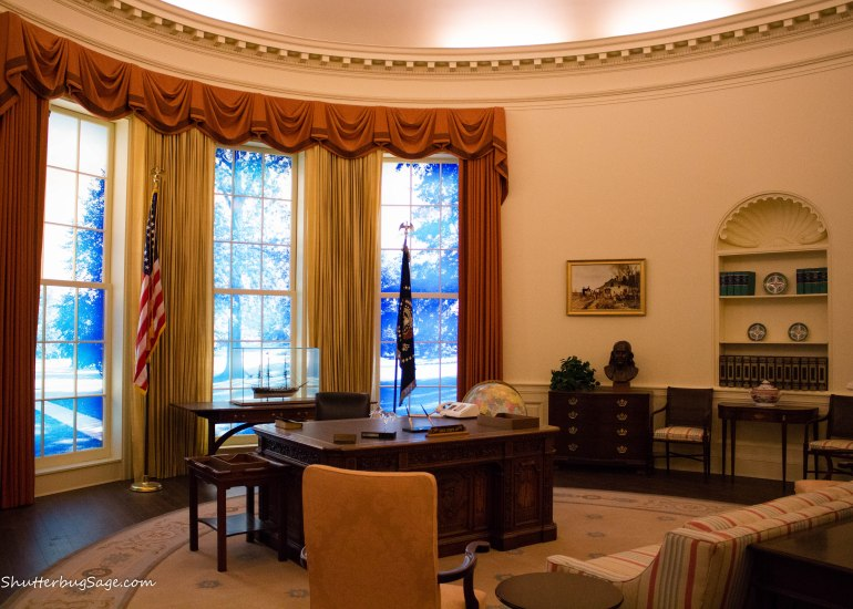 Jimmy Carter Presidental Library & Museum in Atlanta - Oval Office