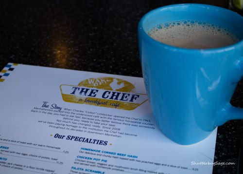 The Chef - Coffee and Menu