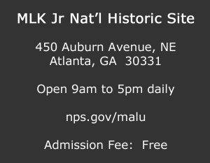 Visiting the MLK Jr National Historic Site
