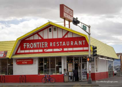Frontier Restaurant on Central Ave in Albuquerque, New Mexico